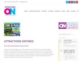 attractionsontario coupons