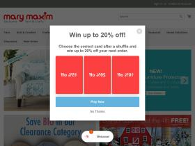 marymaxim coupons