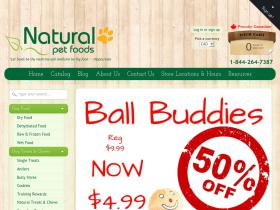naturalpetfoods coupons